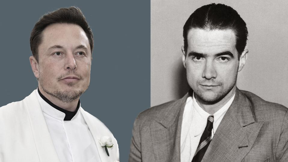 Elon Musk, left, and Howard Hughes, two unconventional Los Angeles billionaires, share surprising similarities in their audacious entrepreneurship, transportation ventures and SEC battles.