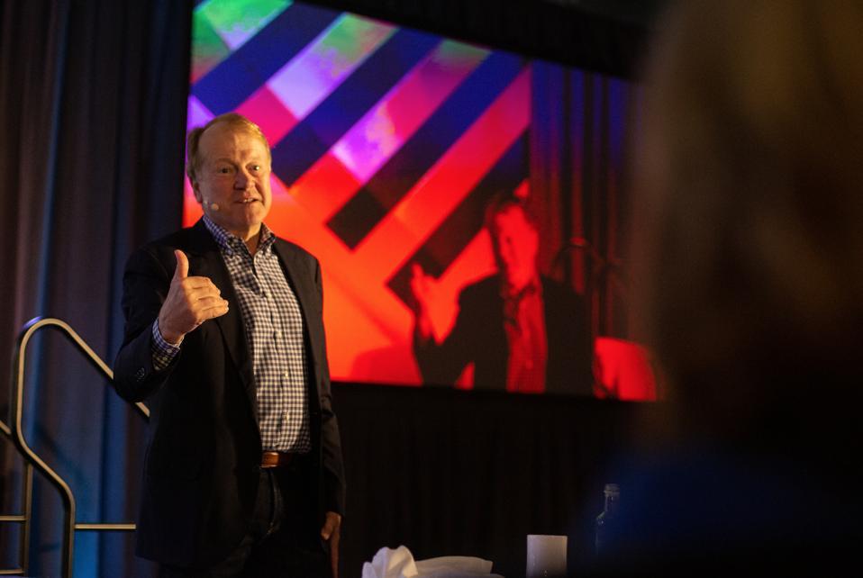 John Chambers, Forbes CIO Summit 2019