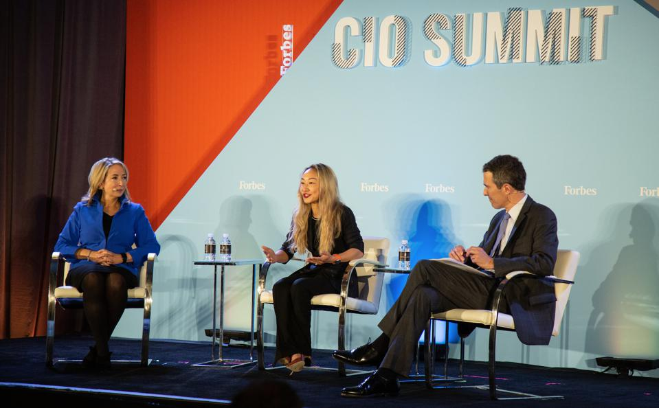 Angela Yochem, Novant Health, Sarah Guo, Greylock Partners Forbes CIO Summit 2019