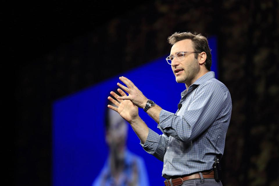 Simon Sinek, bestselling author, at the recent SAP Ariba Live conference