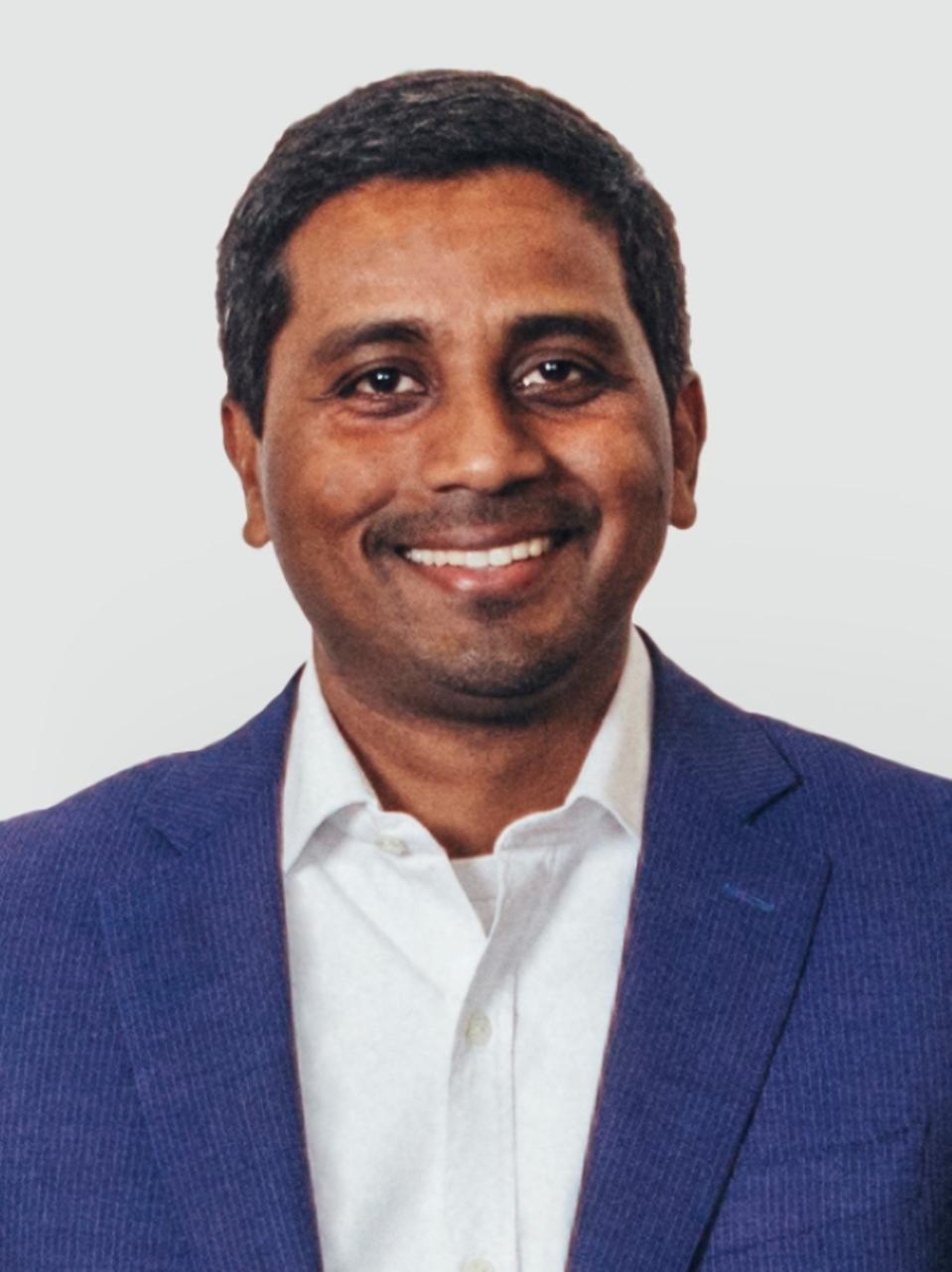 Nigel Vaz, CEO of Publicis Sapient.