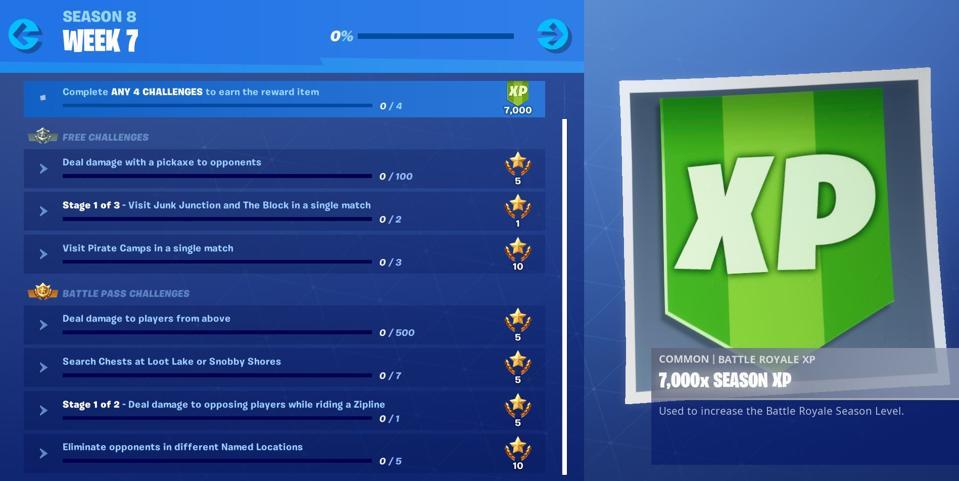 Week 7 challenges