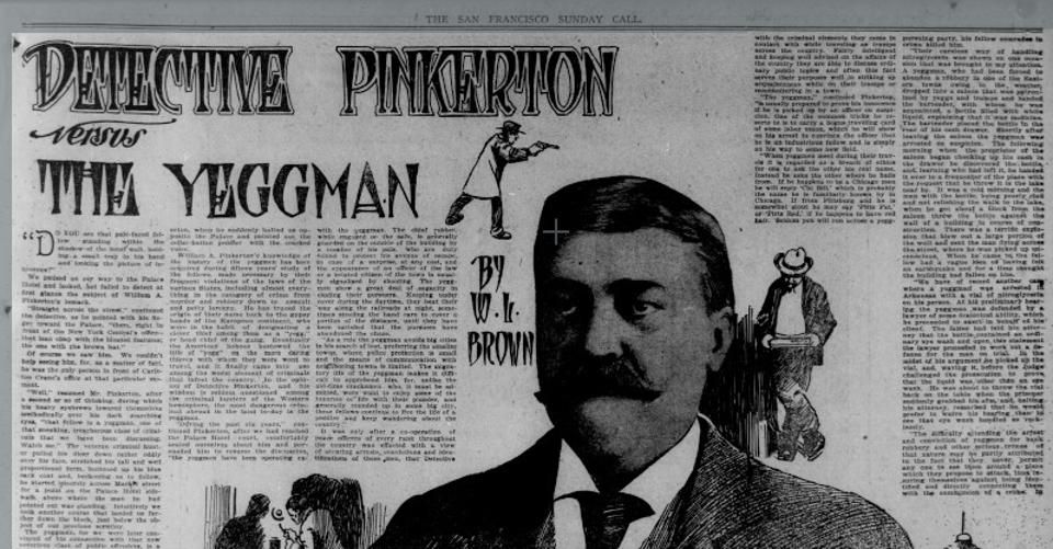 Pinkerton and the Yeggman
