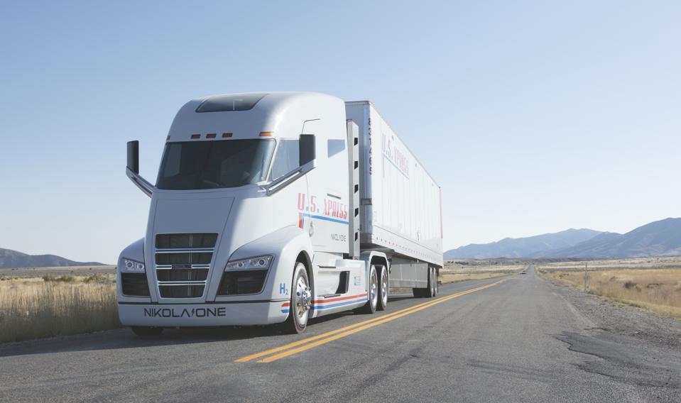 Nikola-hydrogen-truck