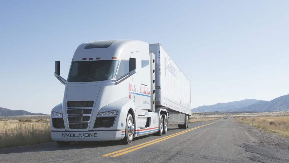 Startup Nikola Bets Hydrogen Will Finally Break Through With Big Rigs