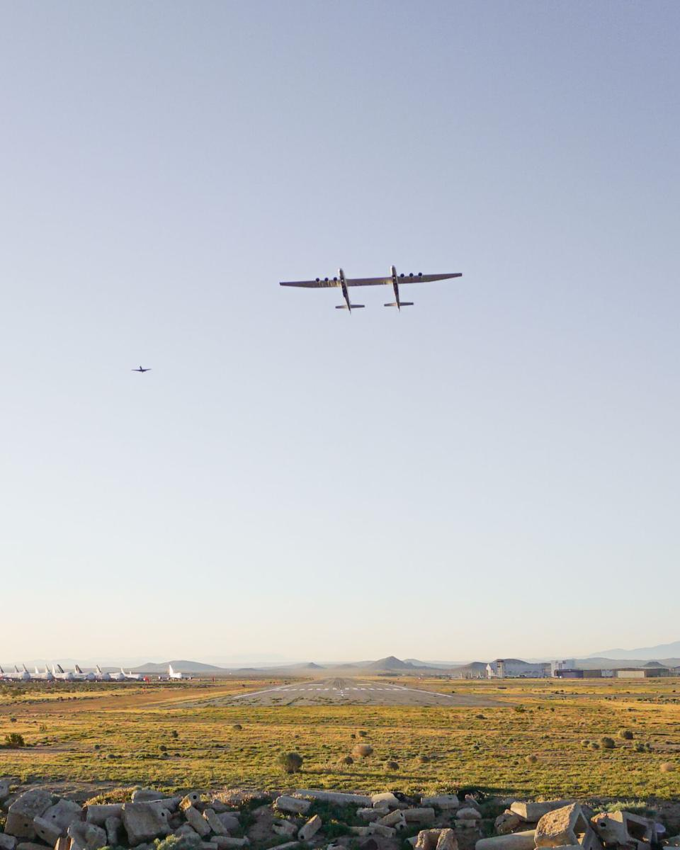 First flight of the Stratolaunch