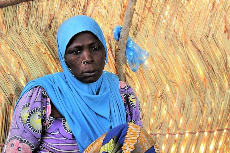 Habi Usman's son was abducted four years ago in Konduga. She hasn't seen him since.