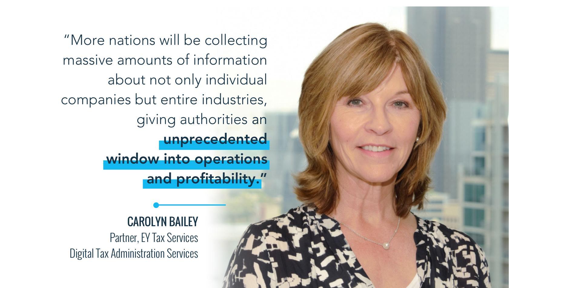 enemmän kansakuntia kerätään valtavia määriä informaatiota paitsi yksittäisistä yrityksistä, myös koko teollisuudesta, antamalla viranomaisille ennennäkemätön ikkuna toimintaan ja kannattavuuteen.