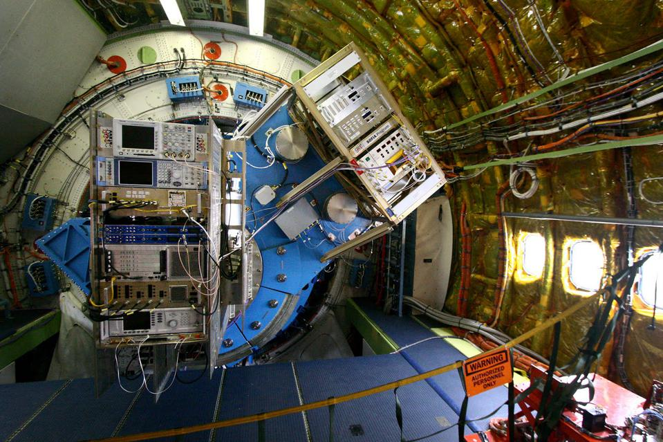 Das SOFIA-Teleskop der NASA ist das weltweit größte und leistungsstärkste Infrarotobservatorium.
