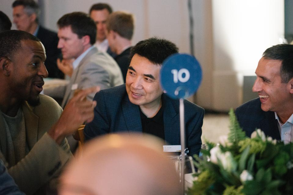 Golden State Warriors athlete Andre Iguodala invested in Zoom after meeting Eric Yuan.