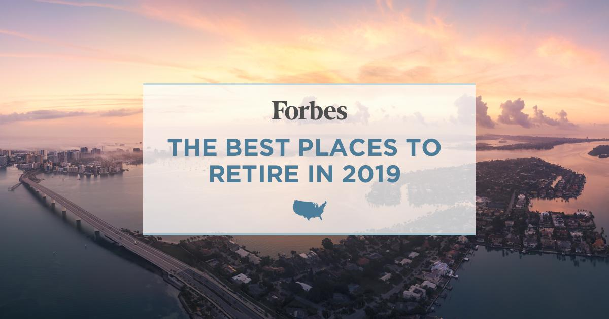 Best States To Retire 2020.Best Places To Retire In 2019