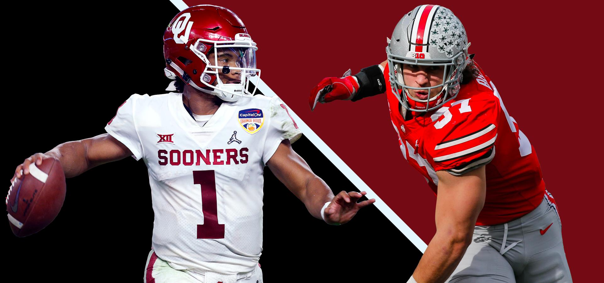Oklahoma's Kyler Murray and Ohio State's Nick Bosa are Nos. 1 and 2 in the Forbes mock draft.