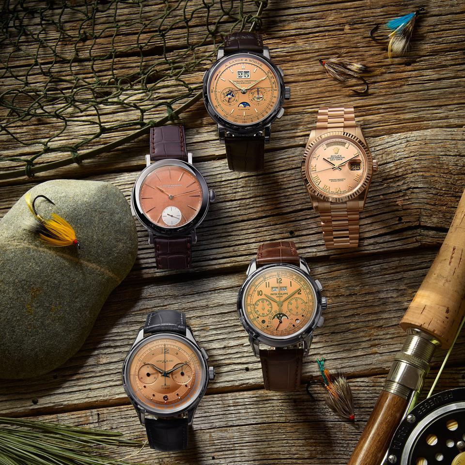 Off the Hook: The Best Salmon-Dial Watches