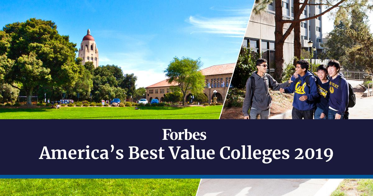 Best Value Colleges 2020 America's Best Value Colleges 2019