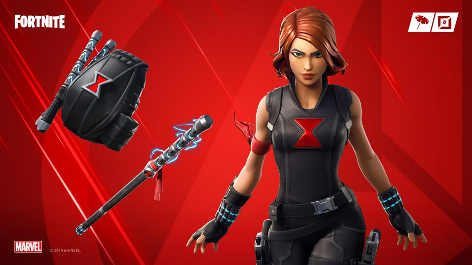 Fortnite S New Black Widow Skin Is Live As Part Of Its