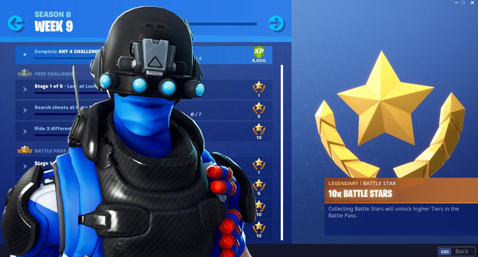 fortnite season 8 week 9 challenges revealed and how to solve them - dance between three ice sculptures fortnite season 8
