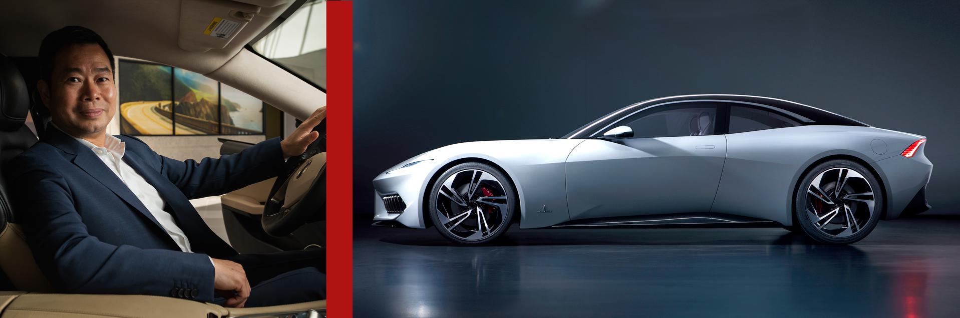 arma GT Designed by Pininfarina