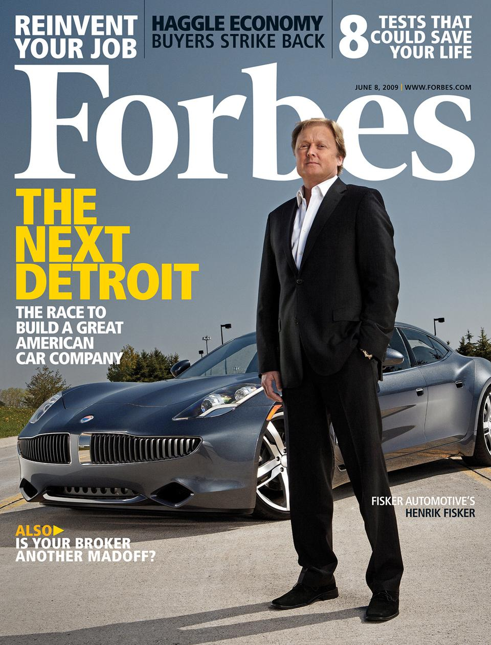 Fisker Forbes Cover