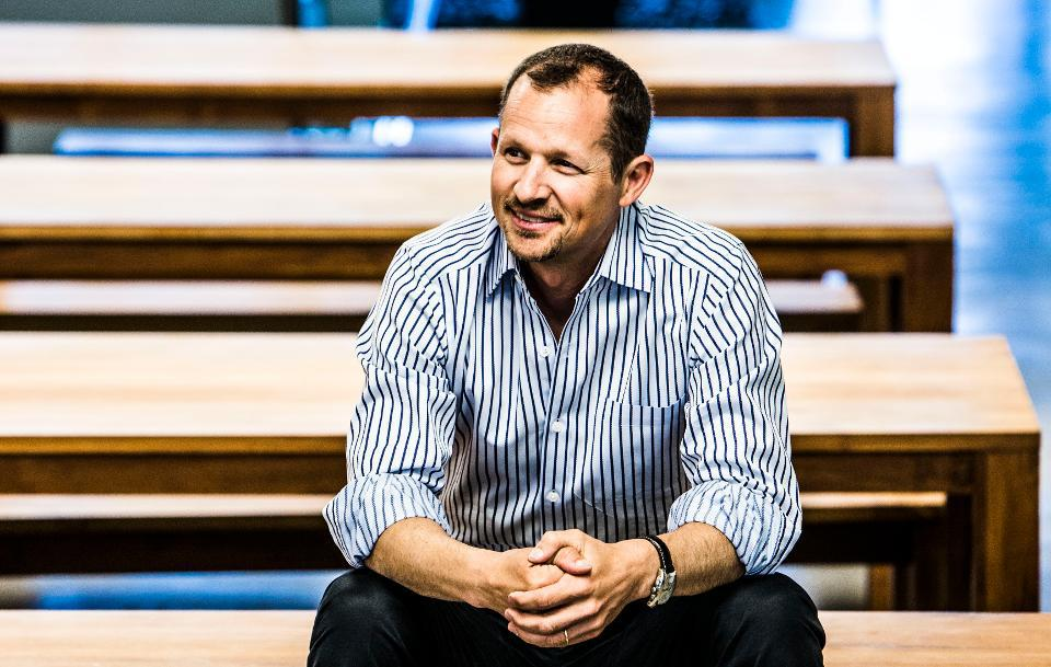 Coursera CEO Jeff Maggioncalda .