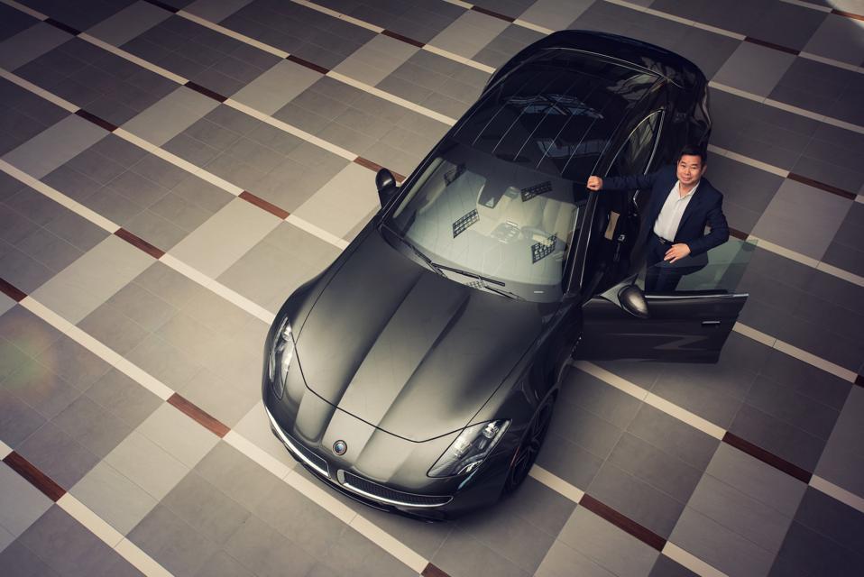 Karma Automotive's CEO Lance Zhou