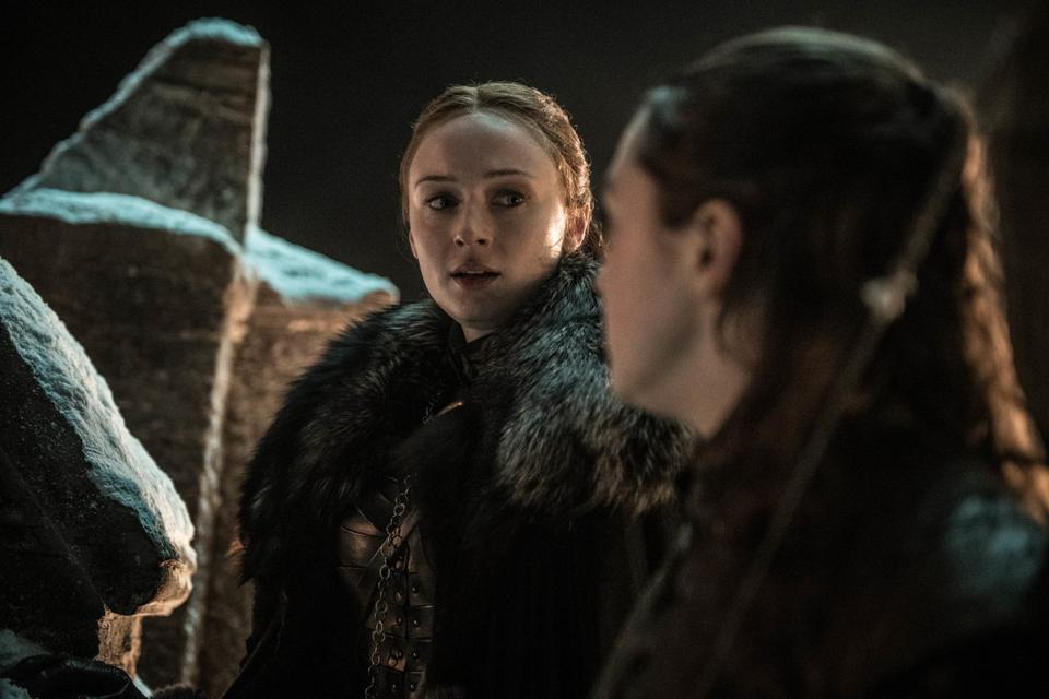 Sansa Stark and the terrible, horrible, no good, very bad