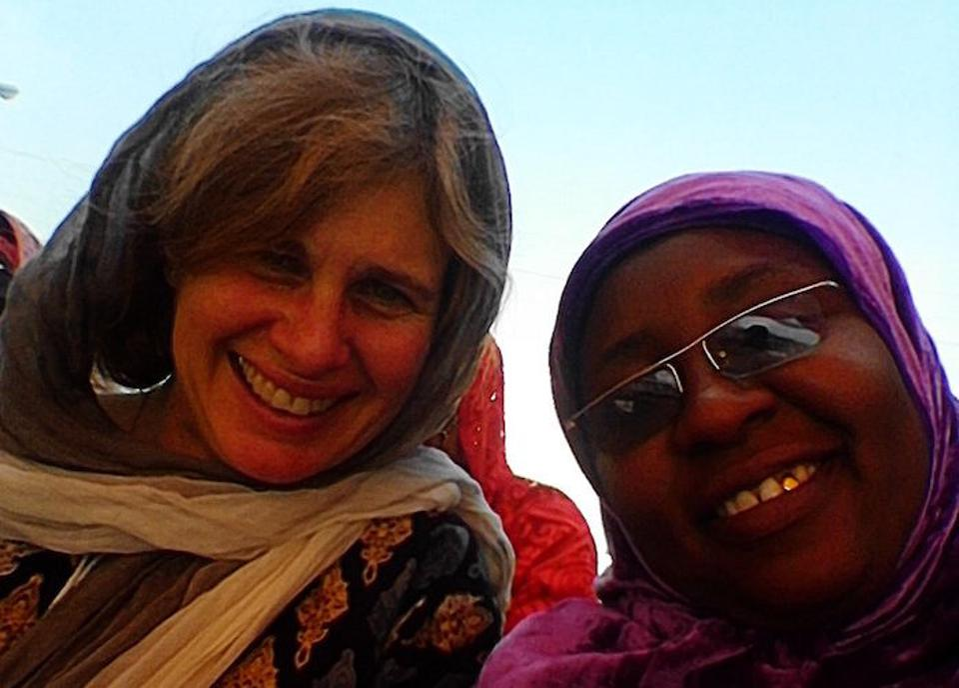 Violaine Mitchell, Interim Director, Vaccine Delivery at the Bill & Melinda Gates Foundation (left), with Sa'adatu Ibrahim, Deputy Routine Immunization Manager, Kano State, Nigeria.