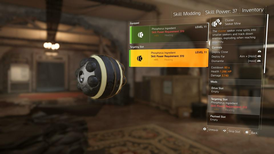 The Division 2's Skill Mod System Is The Worst Thing In The