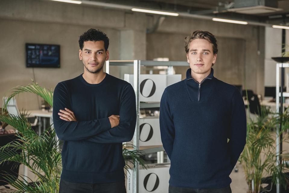 Otrium founders Milan Daniels and Max Klijnstra.