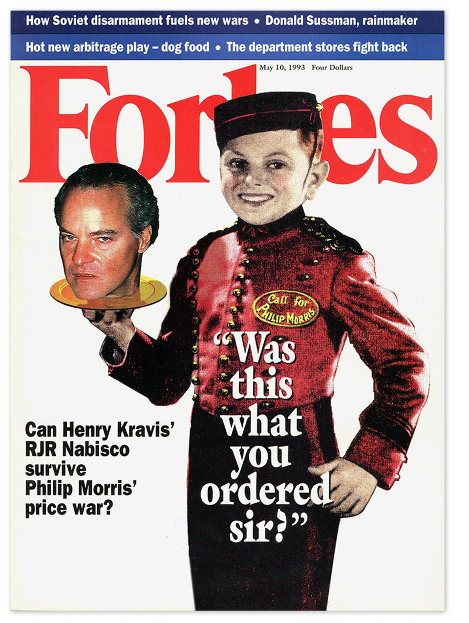 Forbes cover KKR Nabisco 1993