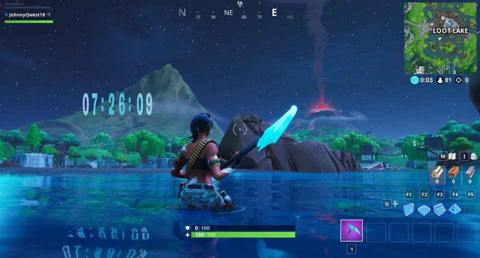 Where And When To Watch Fortnite S Loot Lake And Volcano