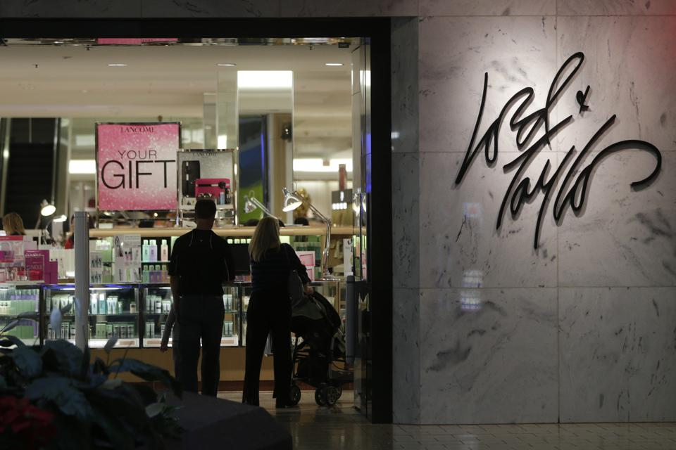 Inside Fair Oaks Mall Ahead Of Retail Sales Figures