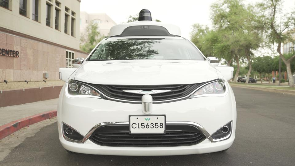 Self-driving-Waymo