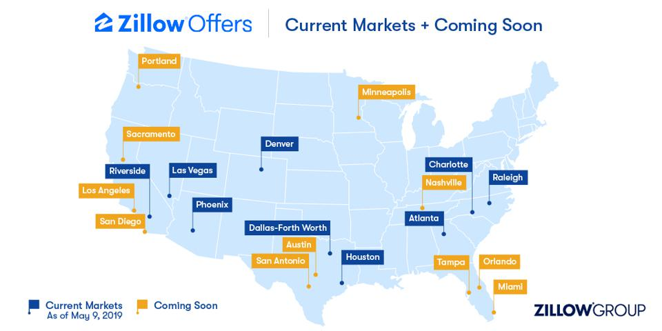 Zillow Offers Markets