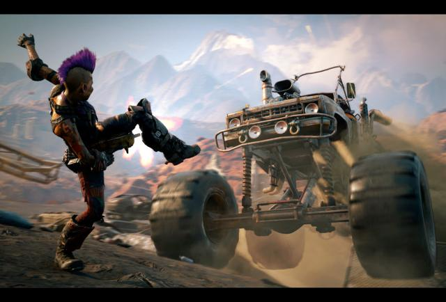 'Rage 2' Review Scores Are Here, And On The Low Side Of Past Bethesda Titles