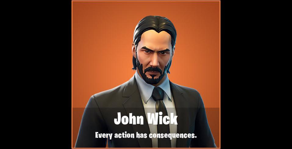 Fortnite Leak Reveals Stunning Official John Wick Skin Ahead Of Chapter 3