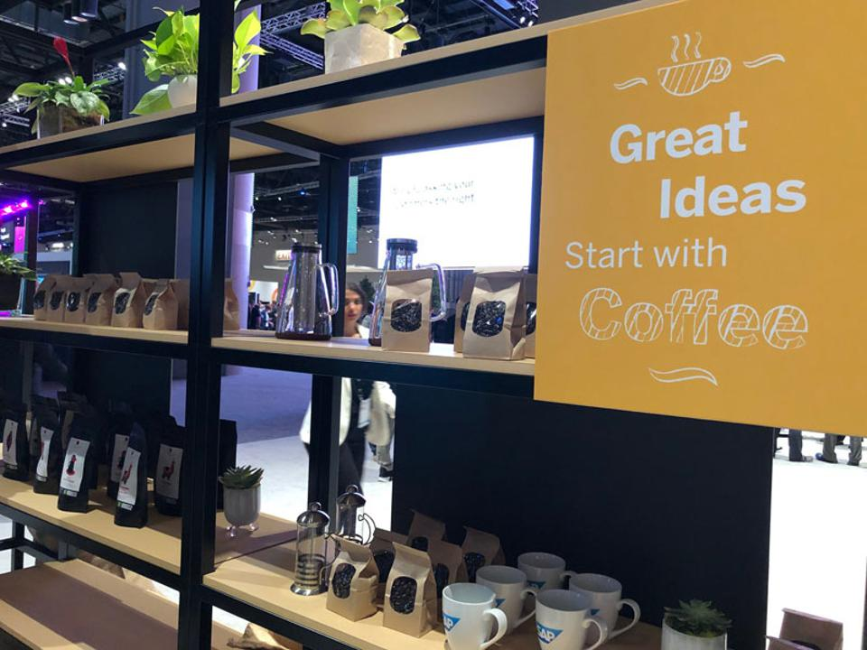 Intelligent Coffee showcases at SAPPHIRE NOW