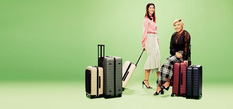 Away, luggage, startup, Steph Korey, Jen Rubio
