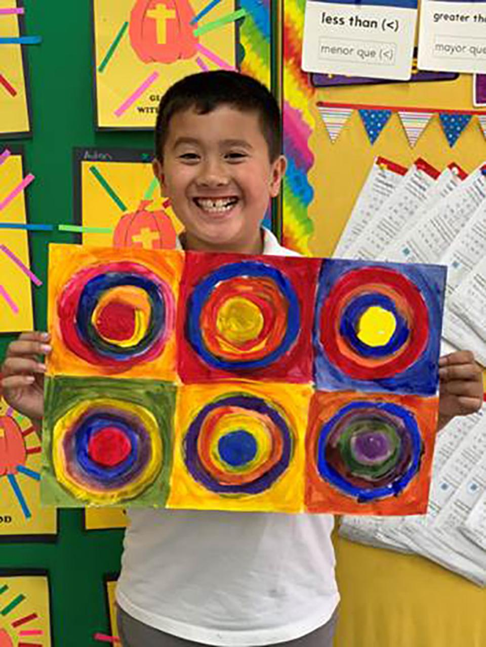 Art in Action helps 85,000 kids get access to art education.