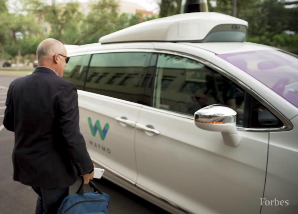 Hand Gestures And Horses: Waymo's Self-Driving Service