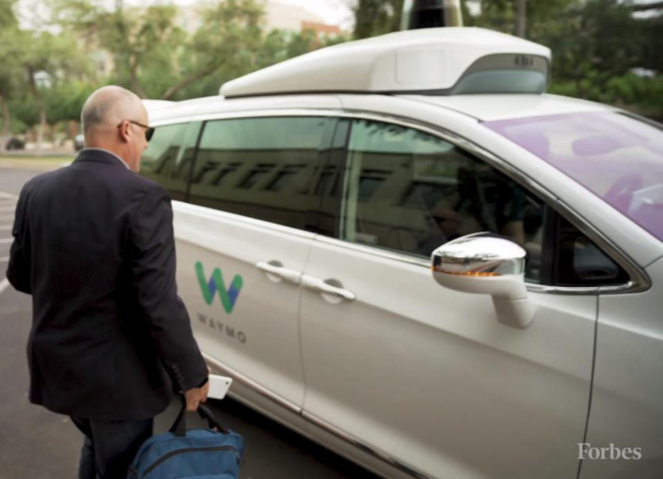 Waymo's ride service has expanded from Phoenix suburb Chandler to cover the cities of Tempe, Mesa and Gilbert, or more than 100 square miles, but progress is slow.