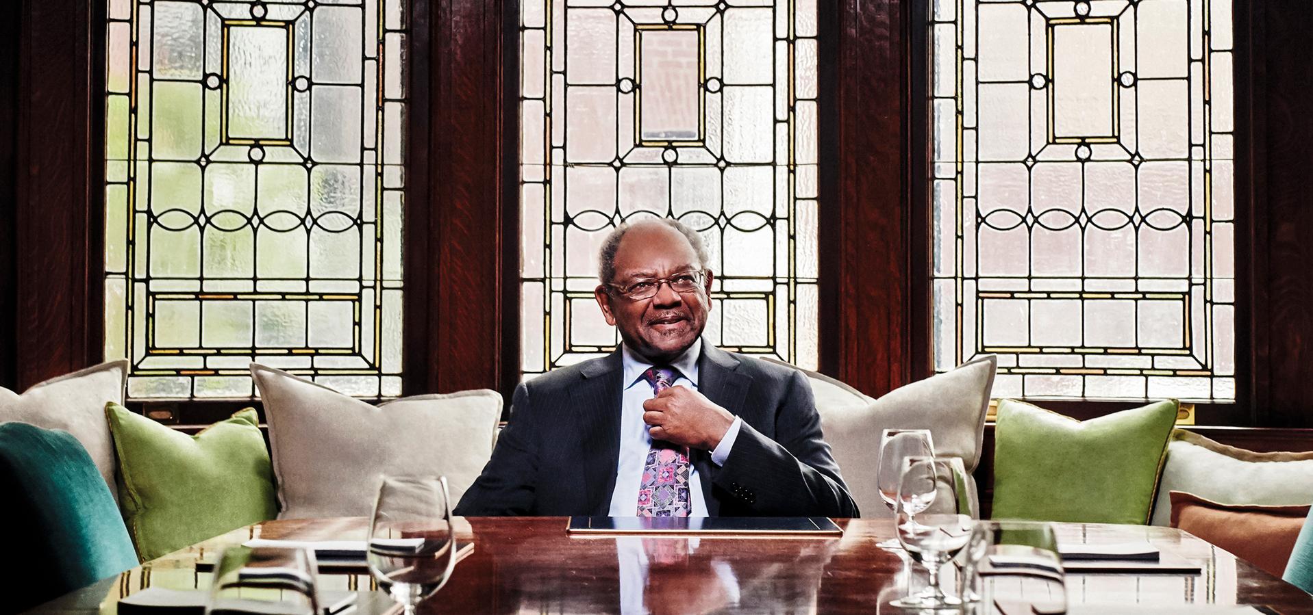 Eddie Brown of Brown Capital Management