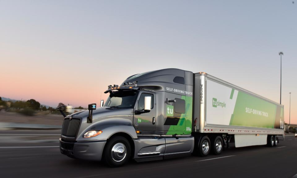 TuSimple is operating the United States Postal Service's first autonomous truck deliveries, with paid roundtrip runs for two weeks from mail facilities in Phoenix and Dallas.