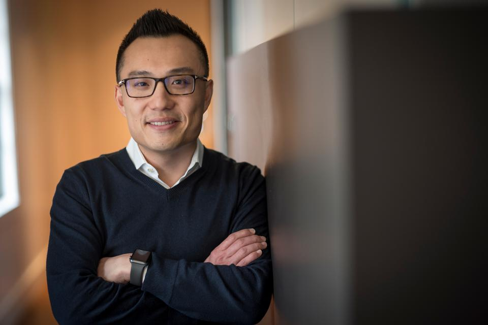 Tony Xu, co-founder and chief executive officer of DoorDash