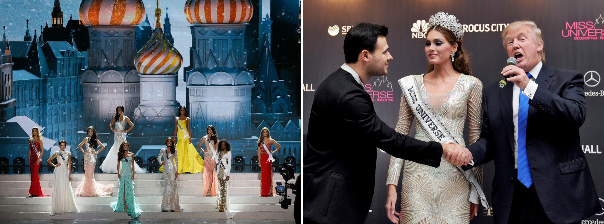 Miss Universe Miss Venezuela Donald Trump