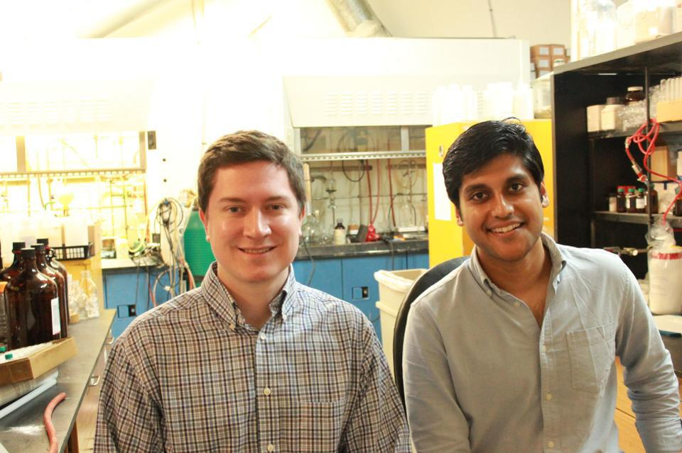 Sean Hunt and Gaurab Chakrabarti, cofounders of Solugen and Under 30 honorees.