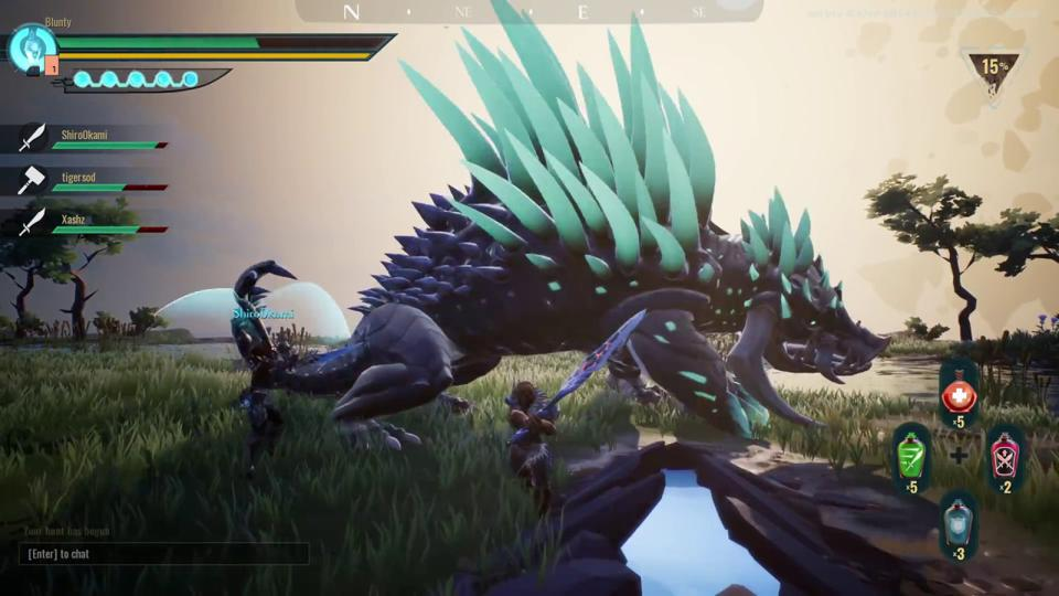 Dauntless' Is A Solid, Free 'Baby Monster Hunter,' Though