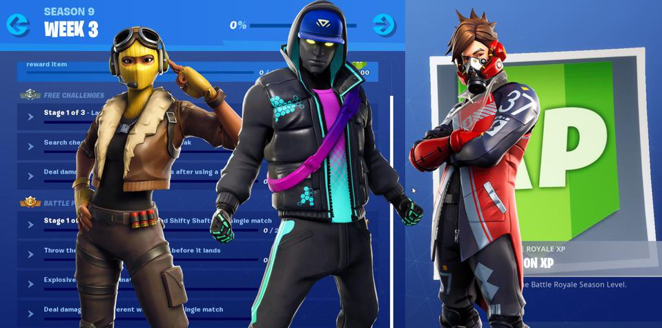 Fortnite' Season 9, Week 3 Challenges Revealed And How To