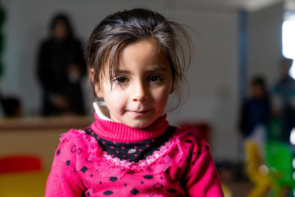 Kindergarten can provide a protective and nurturing environment for refugee children.