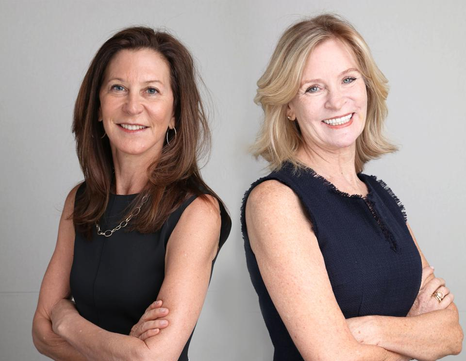 Declare founders Caryn Effron and Beth Haggerty.