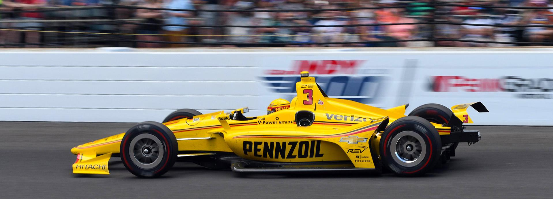 Helio Castroneves Indy 500